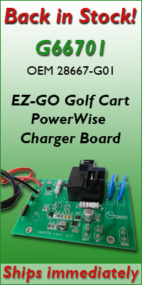 EZ-GO Golf Cart PowerWise Charger Board